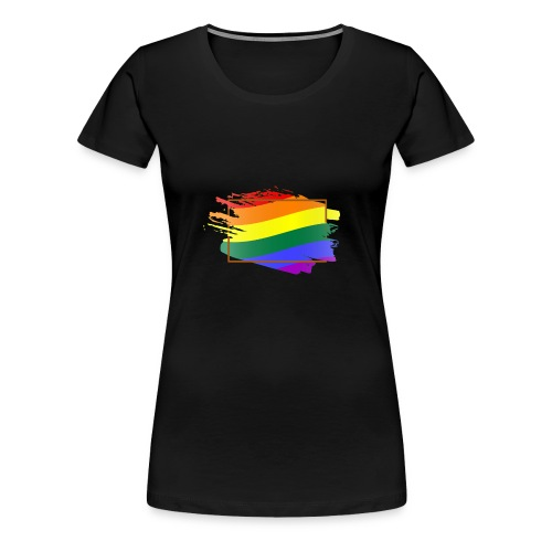 Think Outside the Box - LGBT Pride - Women's Premium T-Shirt