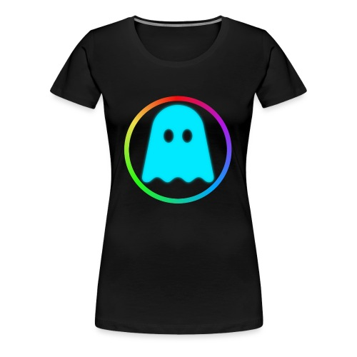 GhostlyGamer - Women's Premium T-Shirt