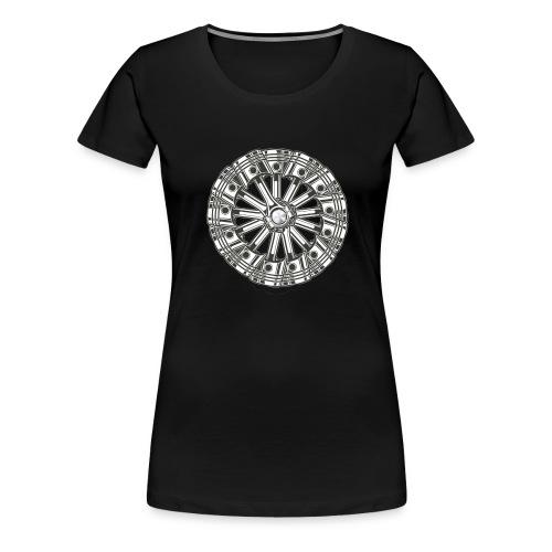 zuiger rol - Vrouwen Premium T-shirt