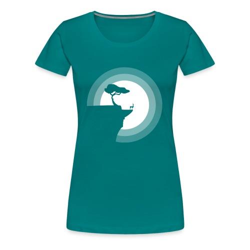 La pleine lune - T-shirt Premium Femme