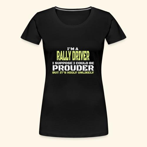 RALLY - Maglietta Premium da donna