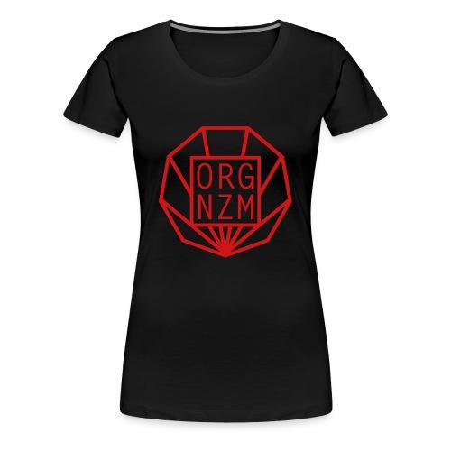 ORGANIZM Logo - Frauen Premium T-Shirt