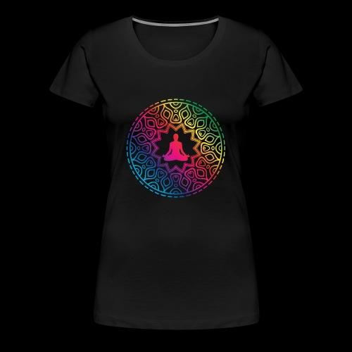 Mindfulness - Meditation design - Koszulka damska Premium