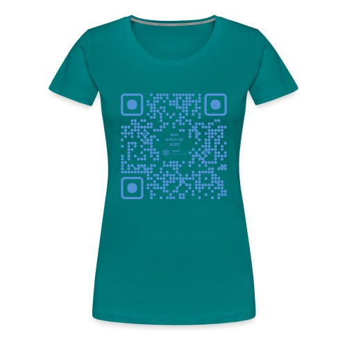 QR The New Internet Shouldn t Be Blockchain Based - Women's Premium T-Shirt