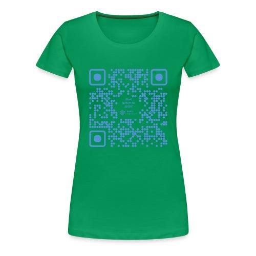 QR The New Internet Shouldn t Be Blockchain Based - Women's Premium T-Shirt
