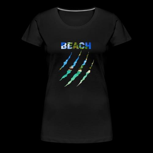 BEACH - Camiseta premium mujer