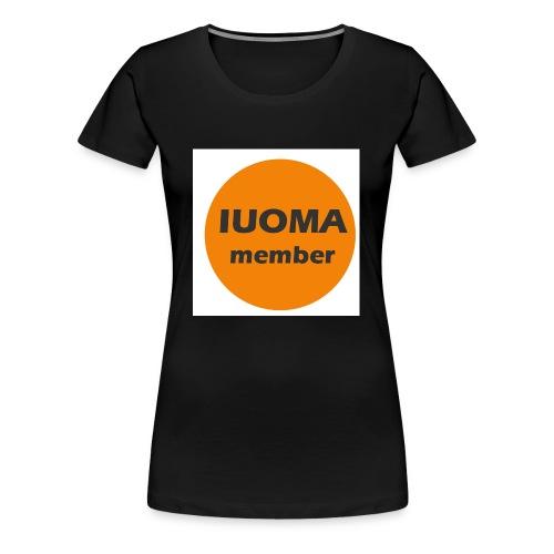 IUOMA Member - Vrouwen Premium T-shirt