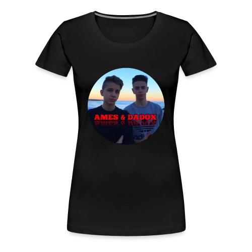 AMES & DADOX - Maglietta Premium da donna