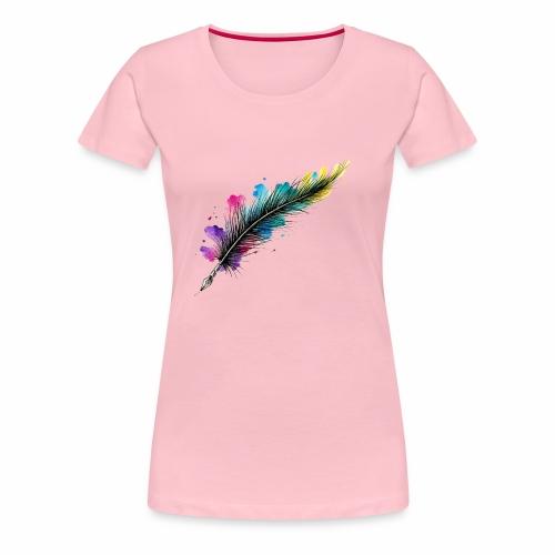 penna piuma - Maglietta Premium da donna