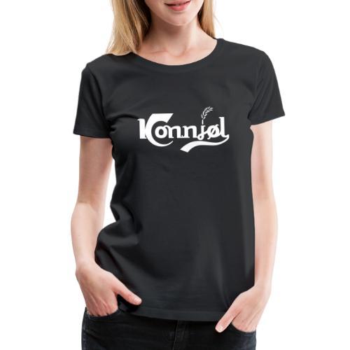 konnjoel - Premium T-skjorte for kvinner
