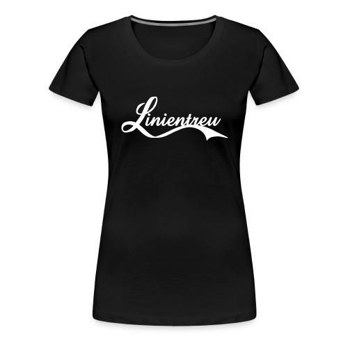 Linientreu - Frauen Premium T-Shirt