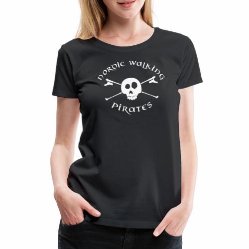 Nordic Walking Pirates (white) - Frauen Premium T-Shirt