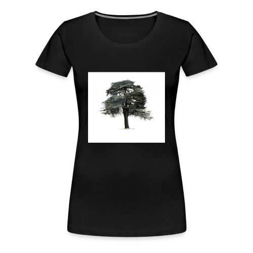 cool cedar tree - Women's Premium T-Shirt