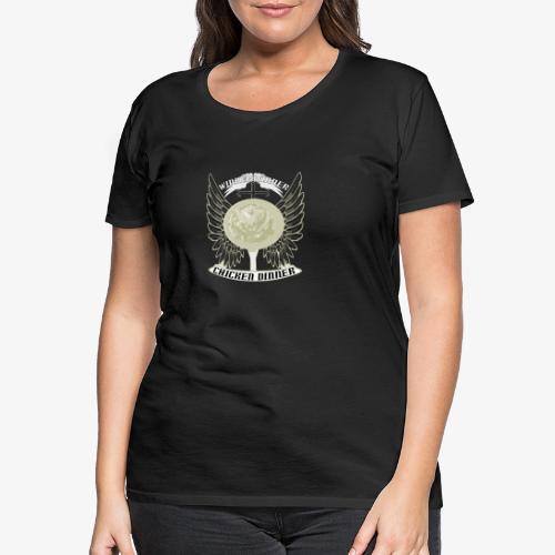 pubg troeja - Premium-T-shirt dam