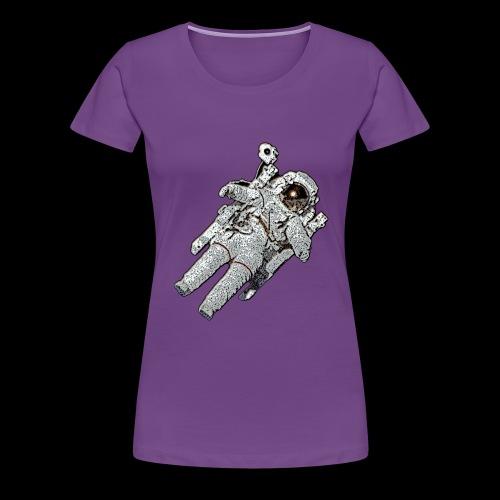 Small Astronaut - Women's Premium T-Shirt