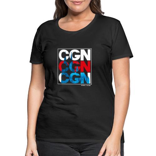 CGN x3 - Frauen Premium T-Shirt