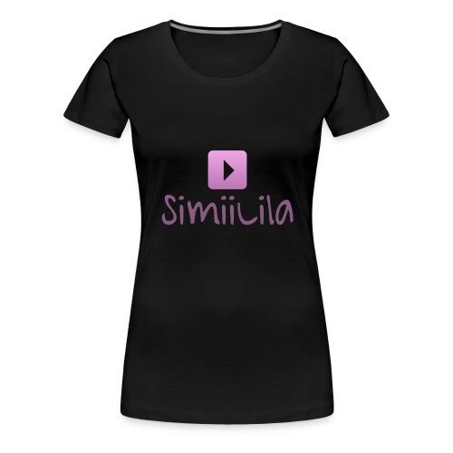 SimiiLila Logo - Frauen Premium T-Shirt
