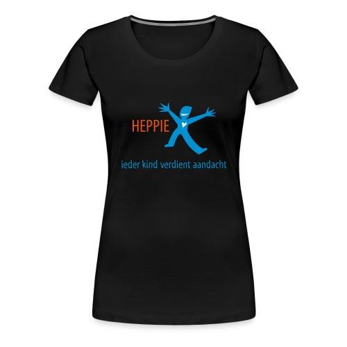 Heppie ieder kind verdient aandacht - Vrouwen Premium T-shirt