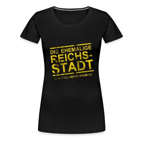 reichsstadt motiv 1 png - Frauen Premium T-Shirt