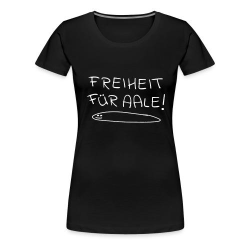 Freiheit für Aale - Urlaub an der Ostsee - Frauen Premium T-Shirt
