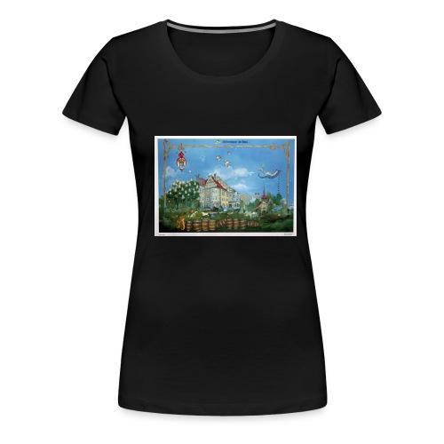 Hofbräuhaus klassisch - Frauen Premium T-Shirt