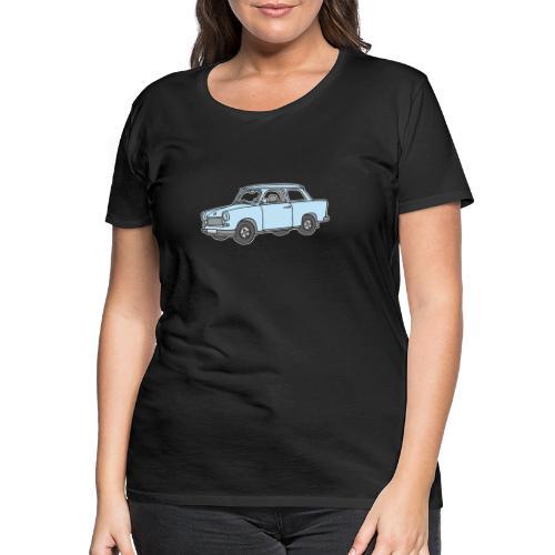 Hellblauer Trabi, Trabant - Frauen Premium T-Shirt