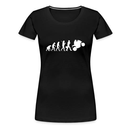 Motorcycle evolution - Maglietta Premium da donna
