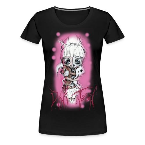 dvni lettering logo - Frauen Premium T-Shirt