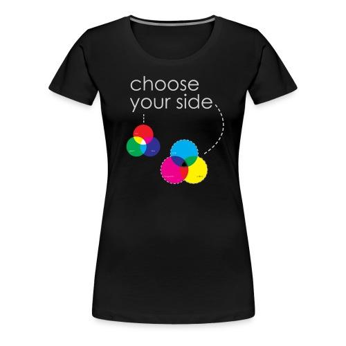 farbsysteme 2 - Frauen Premium T-Shirt