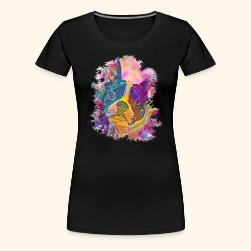 BULLDOG FRANCES - Camiseta premium mujer