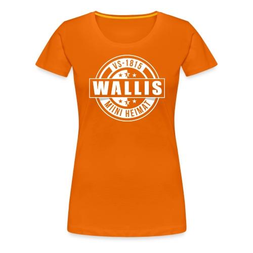 WALLIS - MIINI HEIMAT - Frauen Premium T-Shirt
