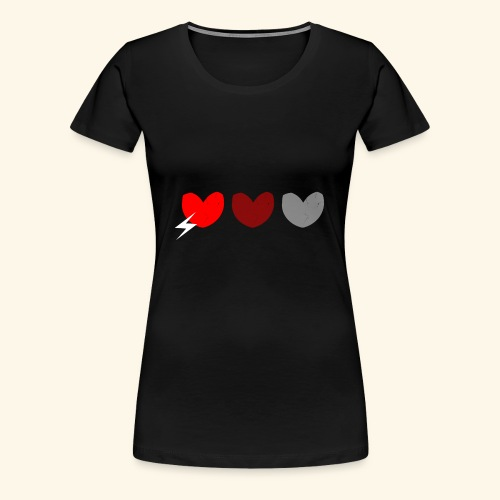 3hrts - Dame premium T-shirt