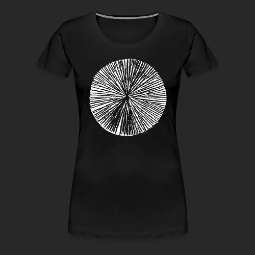 SOL white tshirt 2 - Women's Premium T-Shirt