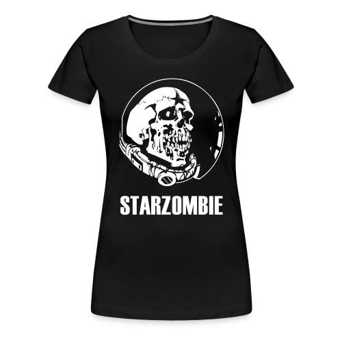 STARZOMBIE White Logo - Premium-T-shirt dam