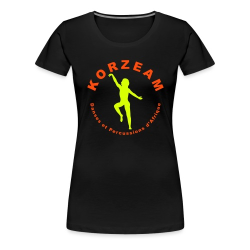Korzeam danseuse 03 Bicolore - T-shirt Premium Femme