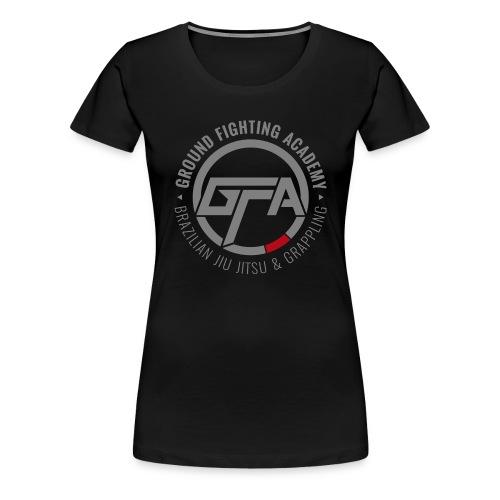 GFA logo (grijs) - Vrouwen Premium T-shirt