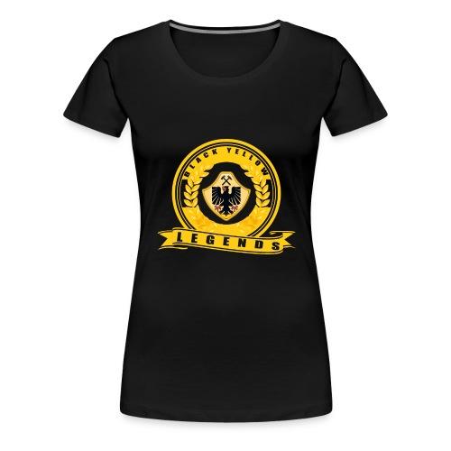 logo3red png - Frauen Premium T-Shirt