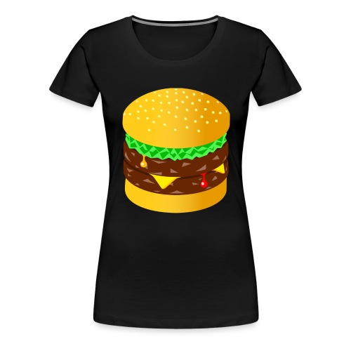 Burger - Women's Premium T-Shirt