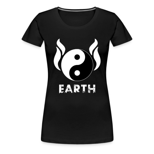 YIN YANG EARTH - Frauen Premium T-Shirt