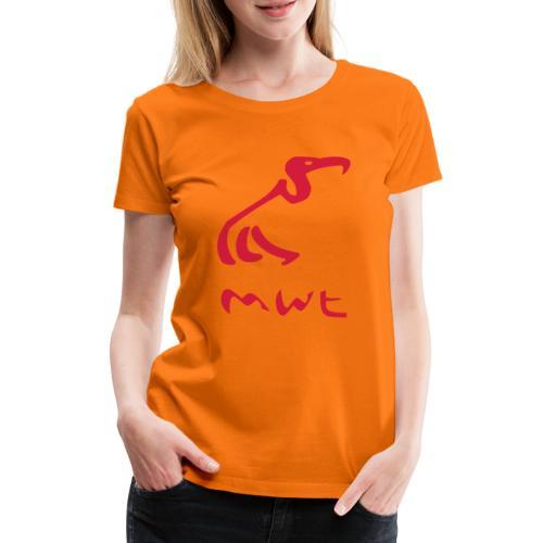 mwt avec nom - Frauen Premium T-Shirt