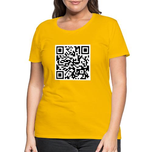 QR ECI UBI2020 - Vrouwen Premium T-shirt