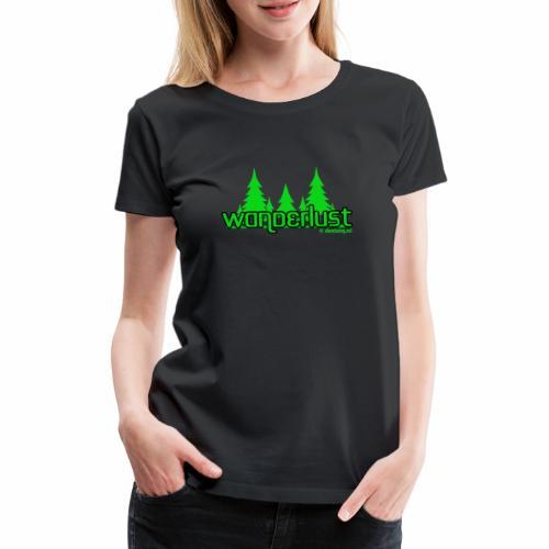 Wanderlust - Vrouwen Premium T-shirt