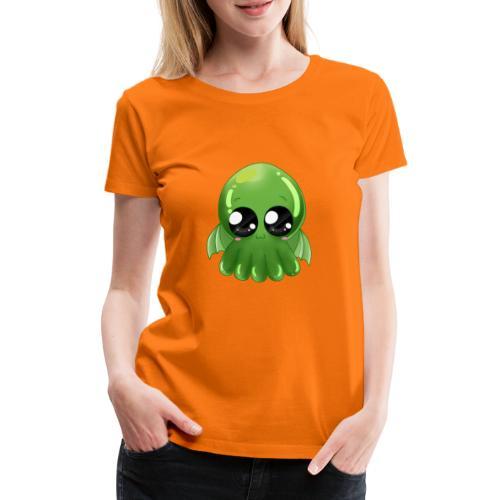 Super süßer Cthulhu - Frauen Premium T-Shirt