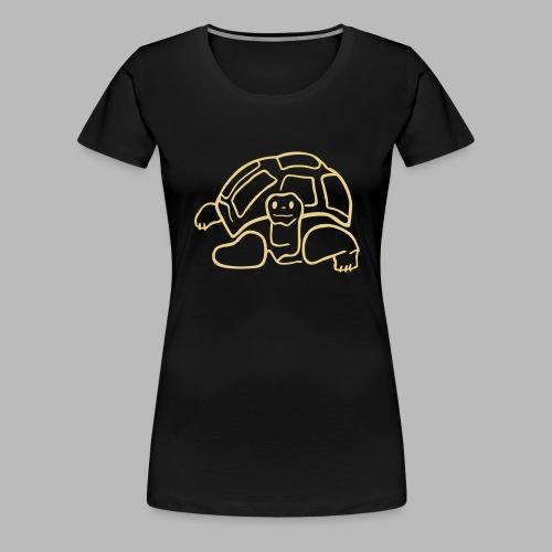 schildkröte landschildkroete aus den seychellen - Frauen Premium T-Shirt