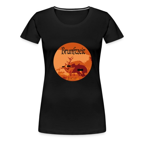 brunftzeit - Frauen Premium T-Shirt