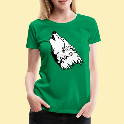 Le Loup de Neved (version blanche) - T-shirt Premium Femme