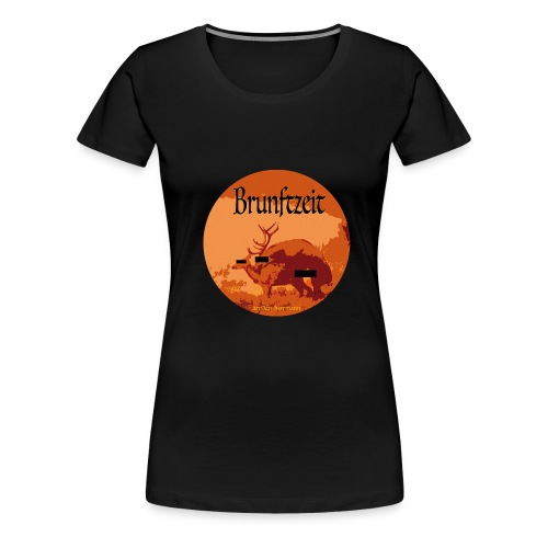 brunftzeit - Frauen Premium T-Shirt