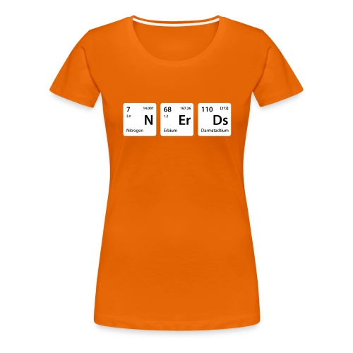 Element Nerds - Frauen Premium T-Shirt