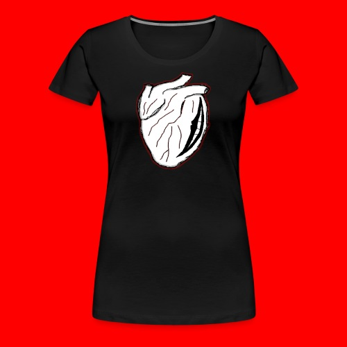 heart icon - Premium-T-shirt dam
