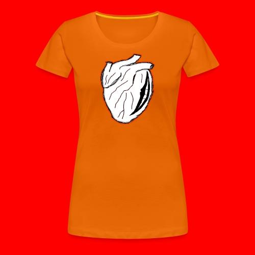 heart icon - Premium-T-shirt dam